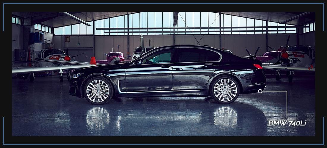Buchungsklasse First Class 7er BMW